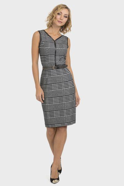 Joseph Ribkoff Grey/Multi Dress Style 193821