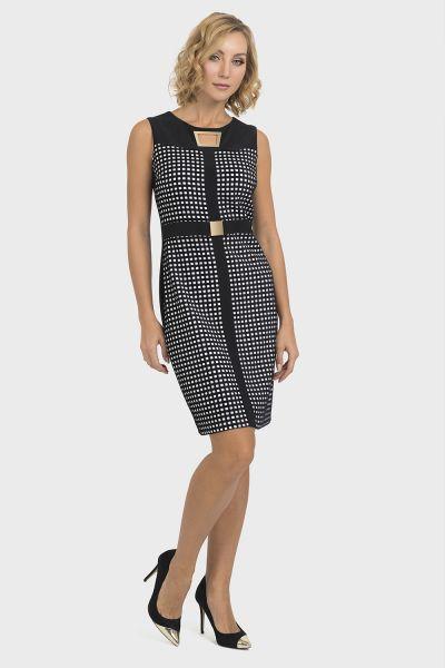 Joseph Ribkoff Black/White Dress Style 193822