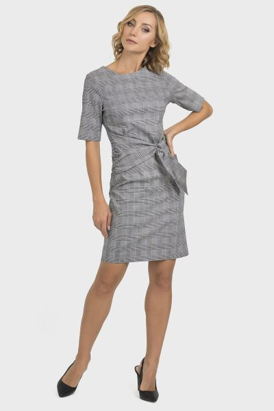 Joseph Ribkoff Black/White Dress Style 193831