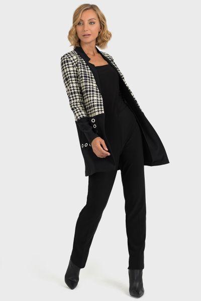 Joseph Ribkoff Black/Beige Jacket Style 193844