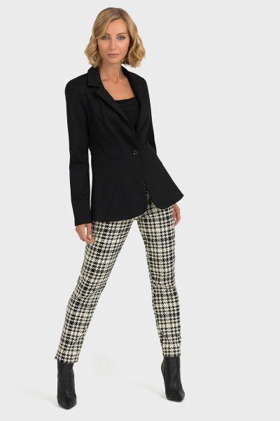 Joseph Ribkoff Black/Beige Pants Style 193845