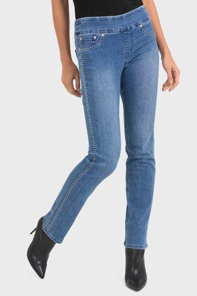 Joseph Ribkoff Blue Pants Style 193989