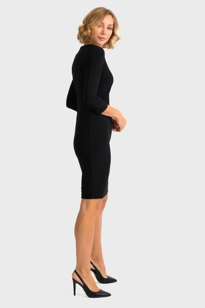 Joseph Ribkoff Black Dress Style 194002