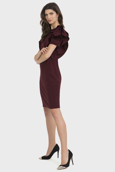 Joseph Ribkoff Cabernet Dress Style 194007