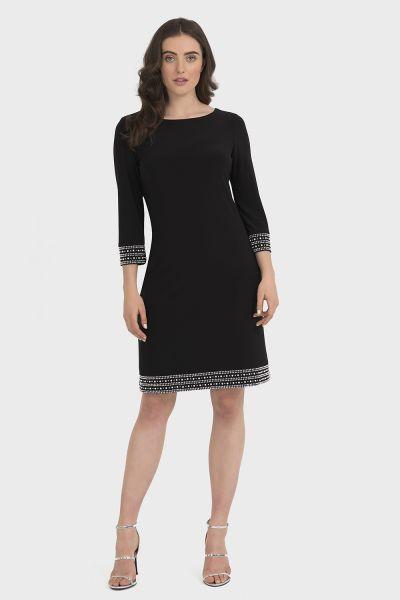 Joseph Ribkoff Black Dress Style 194009