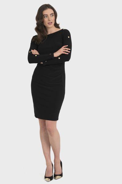 Joseph Ribkoff Black Dress Style 194010