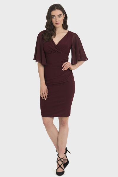 Joseph Ribkoff Cabernet Dress Style 194013