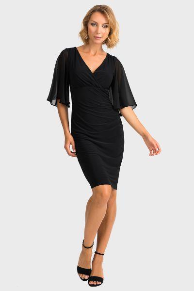 Joseph Ribkoff Black Dress Style 194013