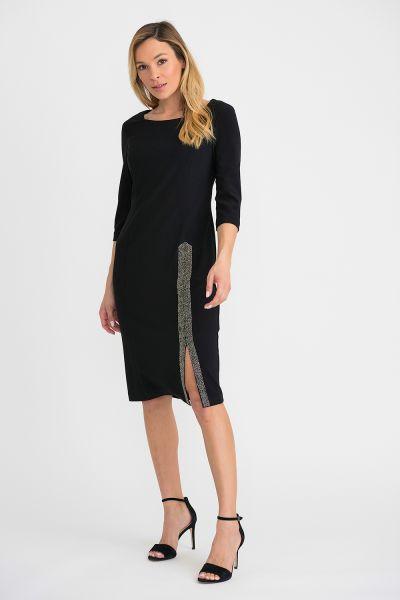 Joseph Ribkoff Black Dress Style 194014