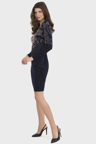 Joseph Ribkoff Midnight Dress Style 194015