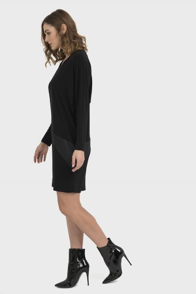 Joseph Ribkoff Black Dress Style 194017