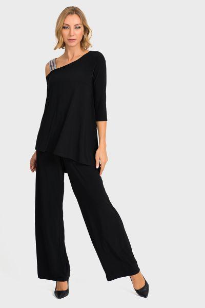 Joseph Ribkoff Black Jumpsuit Style 194025