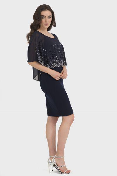 Joseph Ribkoff Midnight Blue Dress Style 194206