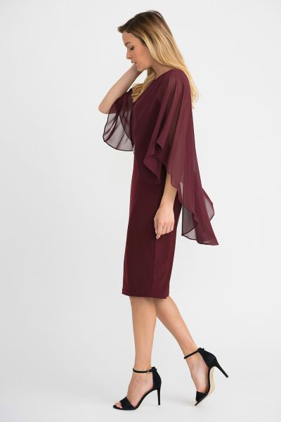 Joseph Ribkoff Cabernet Dress Style 194208