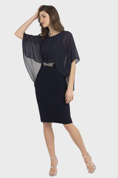 Joseph Ribkoff Midnight Blue Dress Style 194208