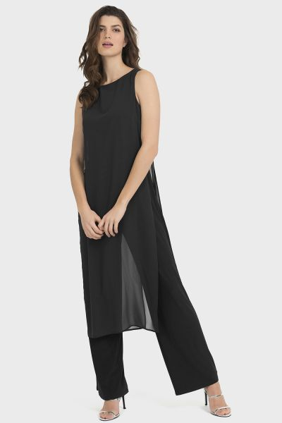 Joseph Ribkoff Black Jumpsuit Style 194213