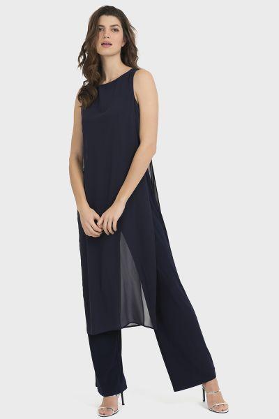 Joseph Ribkoff Midnight Blue Jumpsuit Style 194213