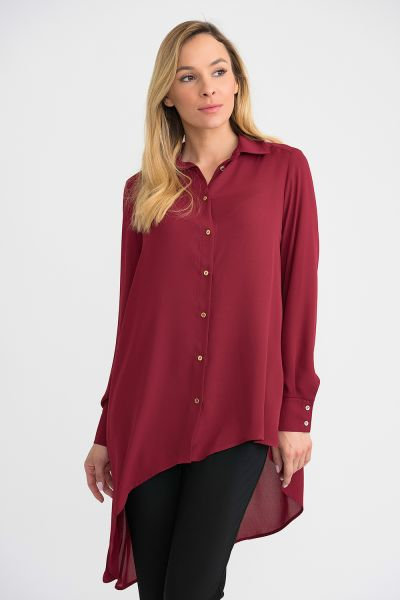 Joseph Ribkoff Imperial Red Top Style 194233