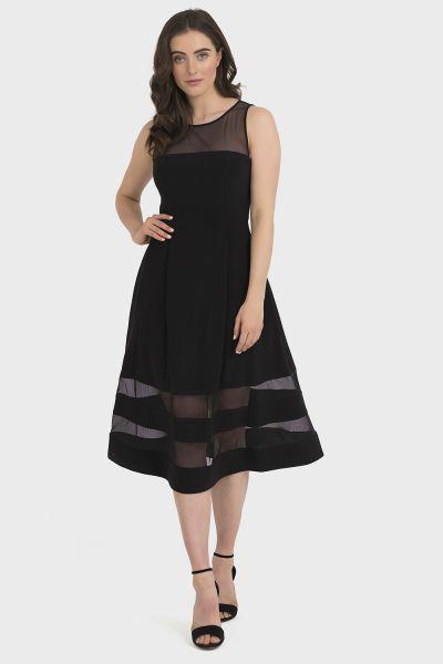 Joseph Ribkoff Black Dress Style 194296