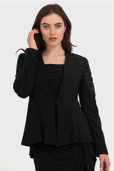Joseph Ribkoff Black Jacket Style 194302