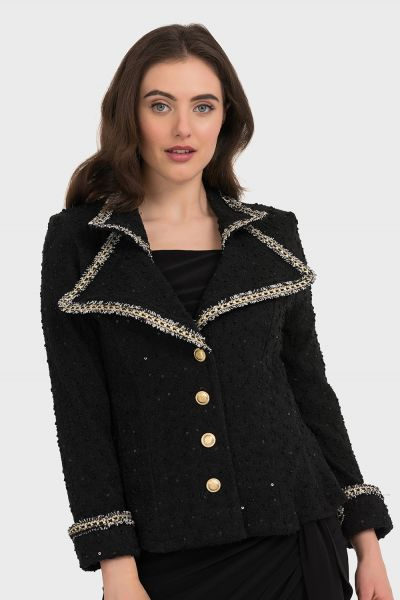 Joseph Ribkoff Black Jacket Style 194435