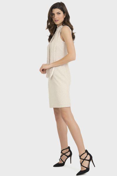 Joseph Ribkoff Beige Dress Style 194436