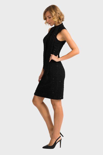 Joseph Ribkoff Black Dress Style 194436