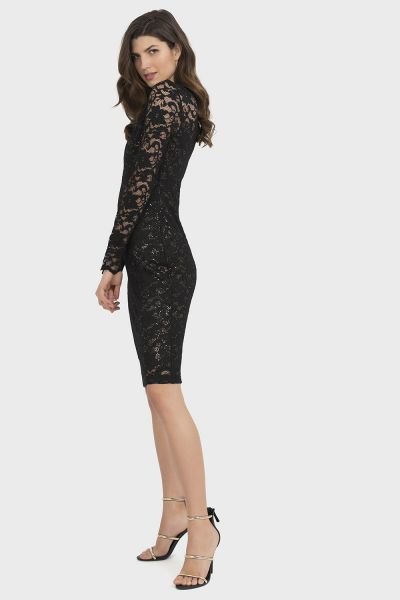 Joseph Ribkoff Black Dress Style 194520