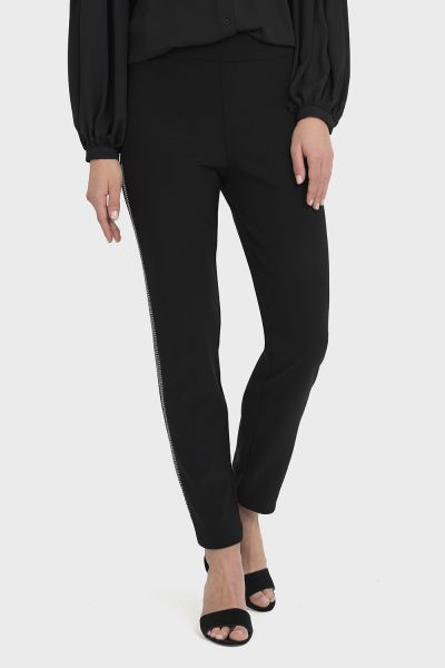 Joseph Ribkoff Black/Silver Pant Style 194537