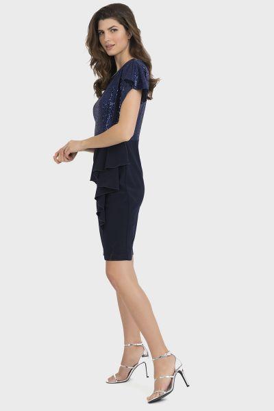 Joseph Ribkoff Midnight Blue/Royal/Blue Dress Style 194543