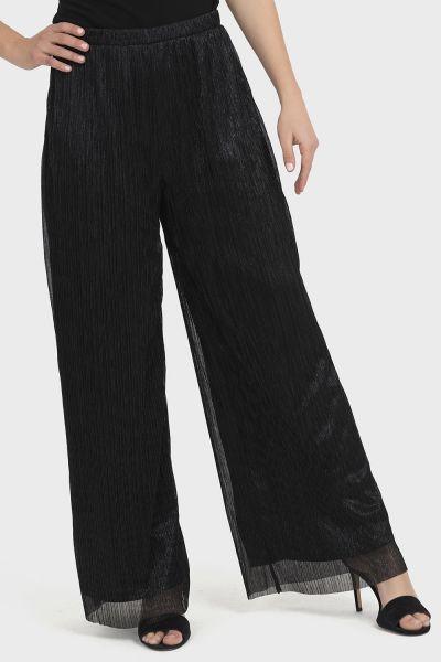 Joseph Ribkoff Black/Silver Pant Style 194559