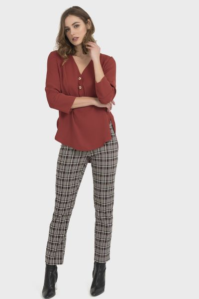Joseph Ribkoff Multi Pants Style 194569