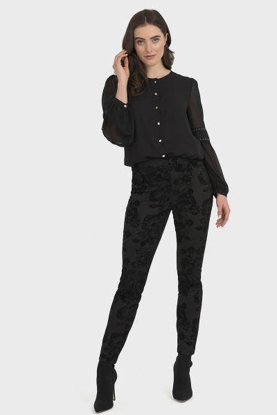 Joseph Ribkoff Black Pants Style 194583