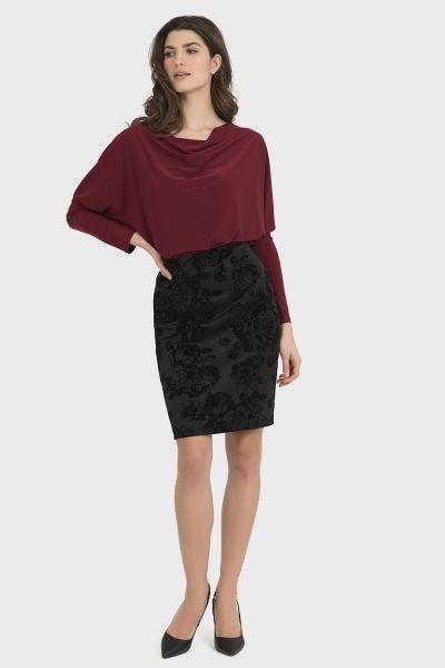 Joseph Ribkoff Black Skirt Style 194585