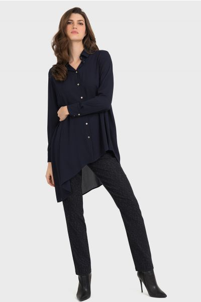 Joseph Ribkoff Black/Grey Pant Style 194693