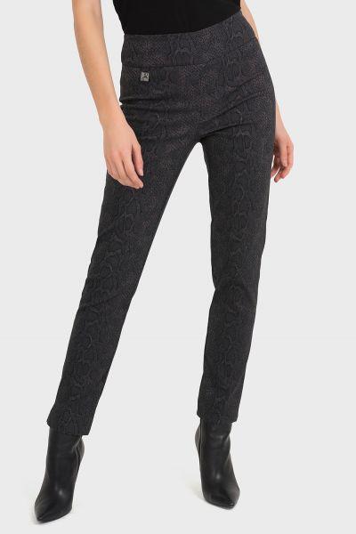 Joseph Ribkoff Black/Taupe Pant Style 194700