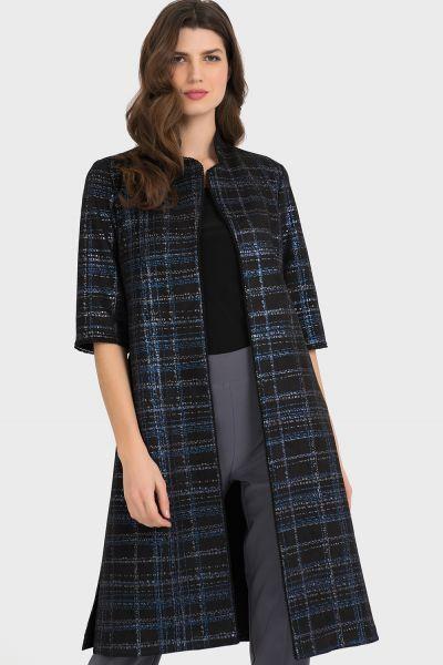 Joseph Ribkoff Black/Blue Jacket Style 194725