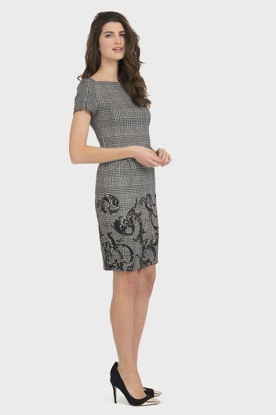 Joseph Ribkoff Black/Multi Dress Style 194819