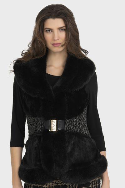 Jospeh Ribkoff Black Vest Style 194897