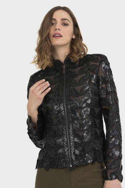 Joseph Ribkoff Black Jacket Style 194899