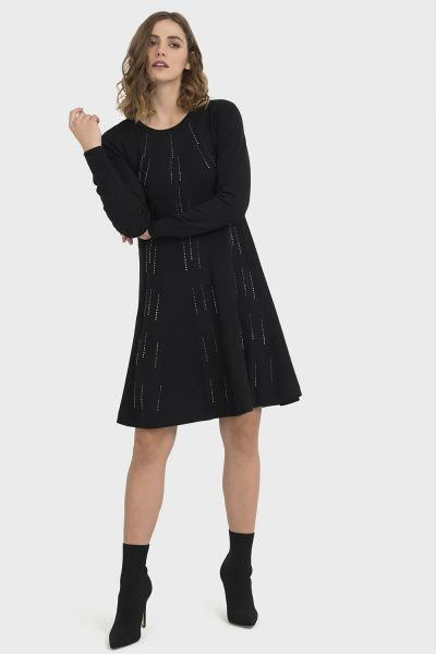 Joseph Ribkoff Black Dress Style 194901X