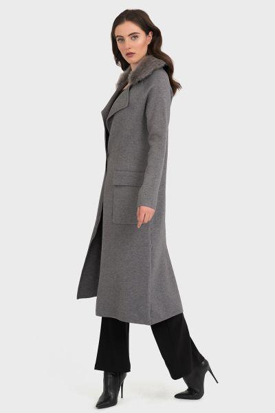 Joseph Ribkoff Grey Coat Style 194917