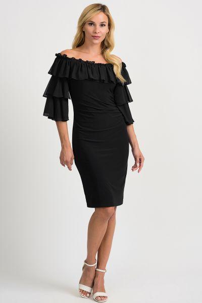 Joseph Ribkoff Black Dress Style 201002