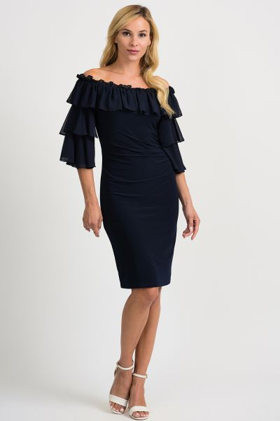 Joseph Ribkoff Midnight Blue Dress Style 201002