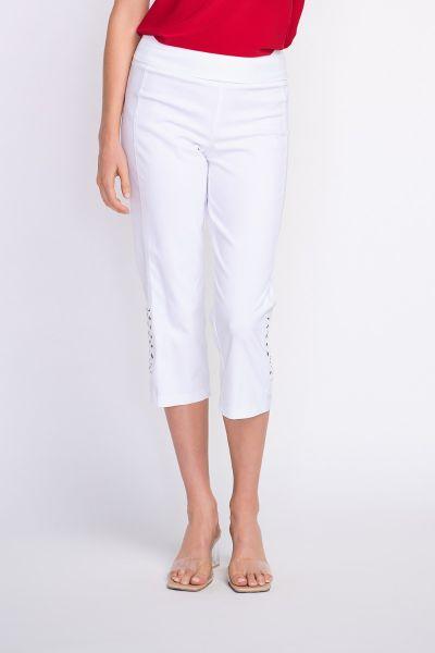 Joseph Ribkoff White Pants Style 202005