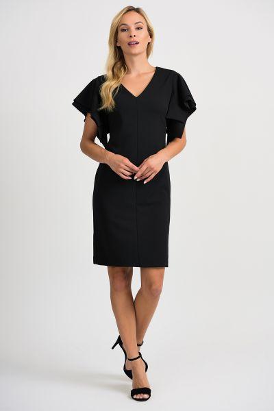 Joseph Ribkoff Black Dress Style 201015