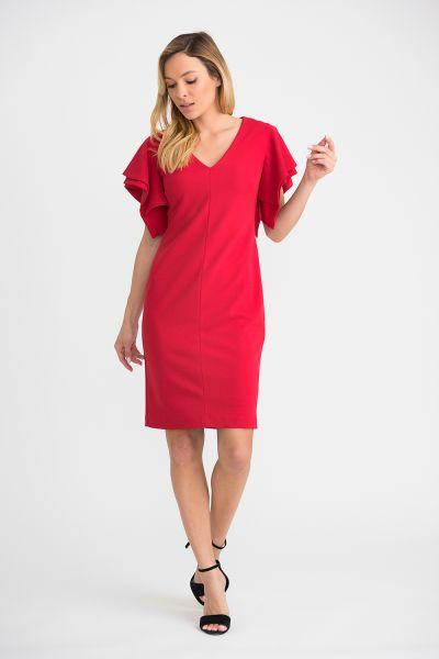 Joseph Ribkoff Lipstick Red Dress Style 201015