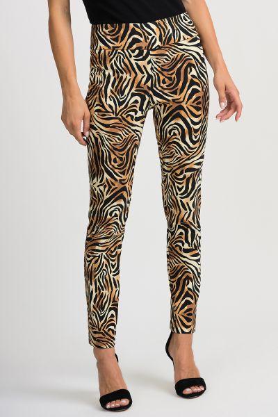 Joseph Ribkoff Black/Beige Pant Style 201022