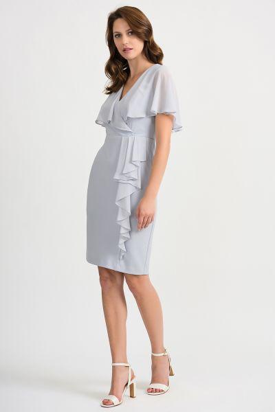 Joseph Ribkoff Grey Frost Dress Style 201072