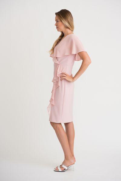 Joseph Ribkoff Rose Dress Style 201072